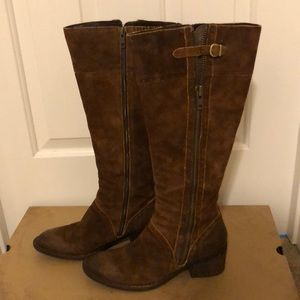 "Born ""Poly"" rust color tall boots size 39"